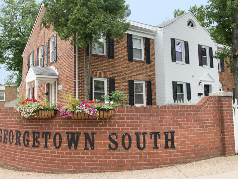 georgetown south entrance